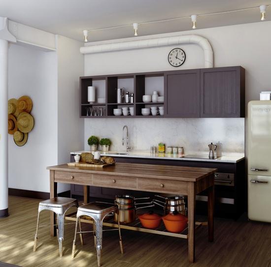 Scones in the Sky Kitchen  via Home Grown Interiors