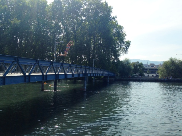 Scones in the Sky | Bridge Jumping in Zurich
