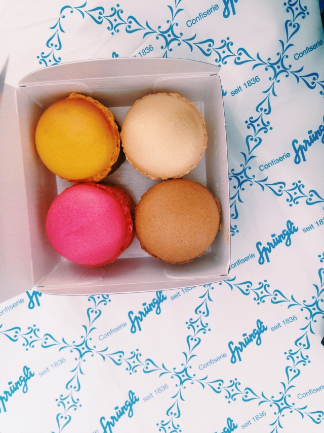 Macarons in Zurich | Scones in the Sky