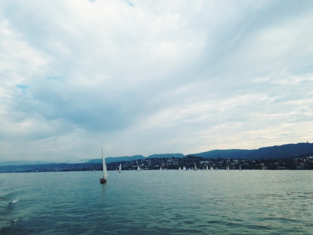 Boating Tour, Zurich | Scones in the Sky