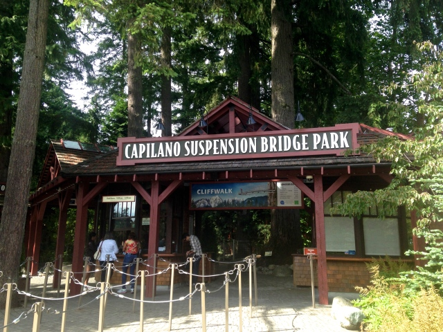 Vancouver Capilano Suspension Bridge Park