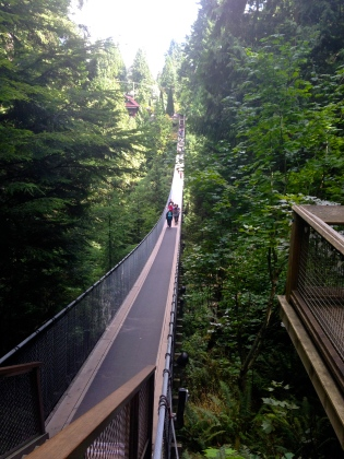 Capilano Suspension Bridge Park Vancouver