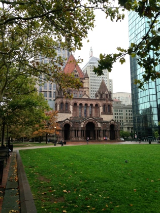 Trinity Church Boston MA | Scones in the Sky