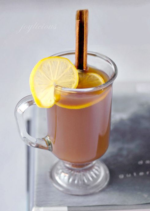 Hot Toddy Recipe | Scones in the Sky