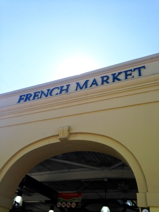 French Market NOLA | Scones in the Sky
