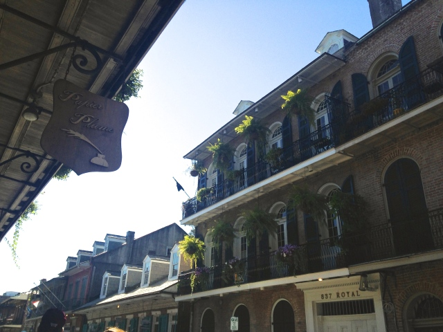 French Quarter |Scones in the Sky