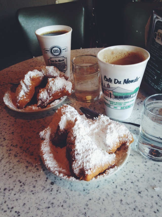 Cafe Du Monde NOLA | Scones in the Sky