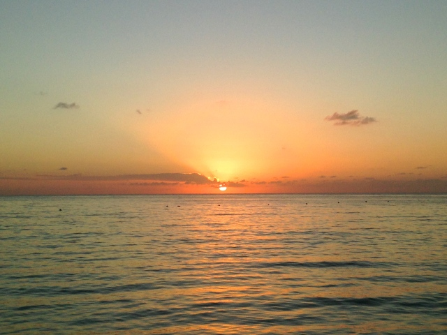 Sunsets in Cozumel | Scones in the Sky Blog
