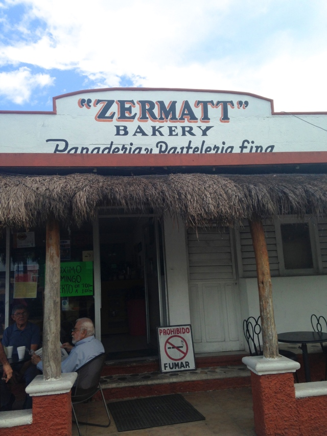 Zermatt Bakery in Cozumel | Scones in Sky Blog