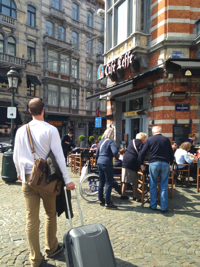 Brussels | Caffe Leffe | Scones In The Sky Blog