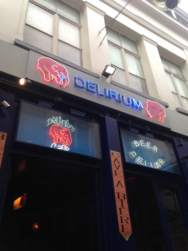 Delirium Cafe | Brussels | Scones in the Sky Blog